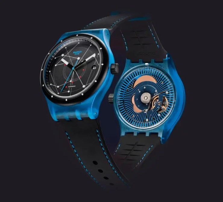 swatch sistem51 SISTEM BLUE (SUTS401)