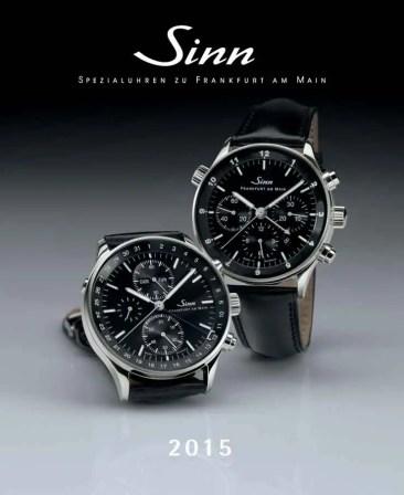 Sinn Spezialuhren Kalender 2015