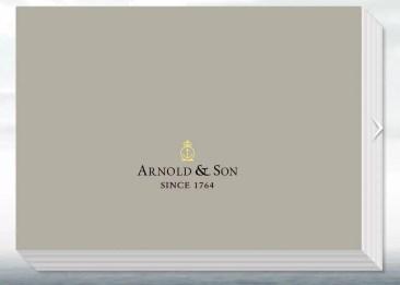 Arnold & Son Katalog 2014/2015 auch online verfügbar