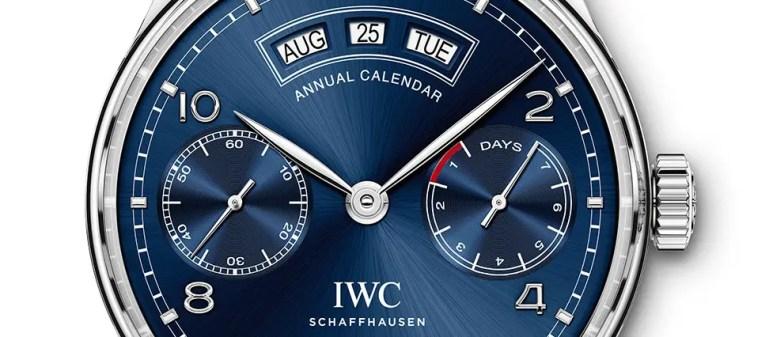 Neu zur SIHH 2015: IWC Portugieser Jahreskalender