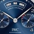 iwc annual calendar dial