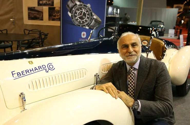 Oldtimer-Sammler Corrado Lopresto ist neuer Markenbotschafter von Eberhard & Co