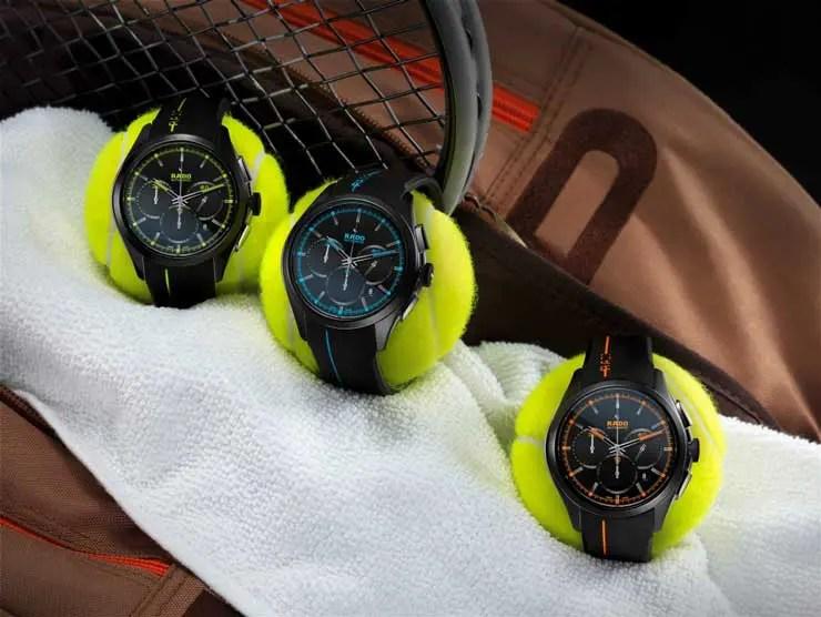 Rado auch 2015 im Tennissport engagiert