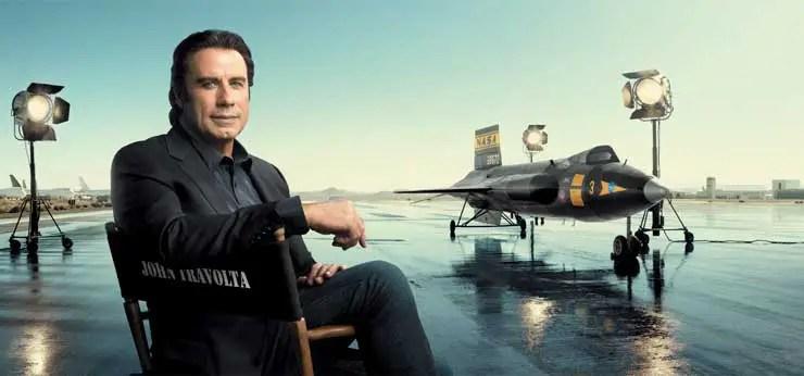 John Travolta und Pilot