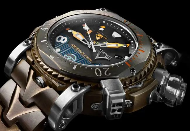 Visconti W108 Abyssus Pro-Dive 3000M Bronze