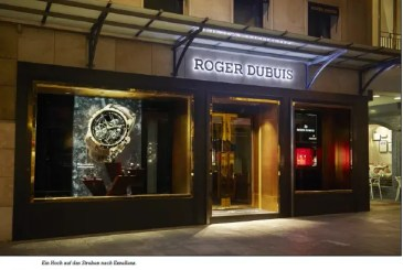 Neue Roger-Dubuis-Boutique in Genf