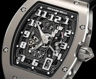 Richard Mille RM 67-01 Automatik extraflach