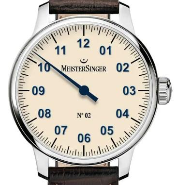 MeisterSinger No. 2: Einzeigeruhren-Klassiker mit neuer Optik