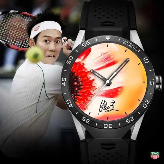 TAG Heuer Connected Watch Kei Nishikori 2