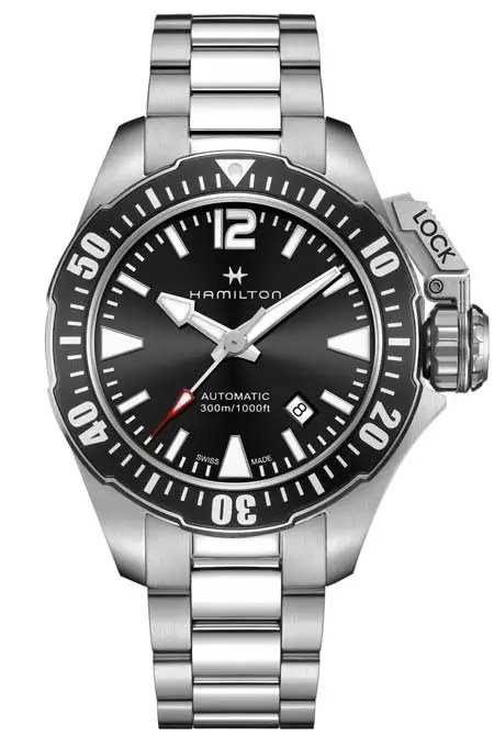 Navy Frogman H77605135-Hamilton-Khaki
