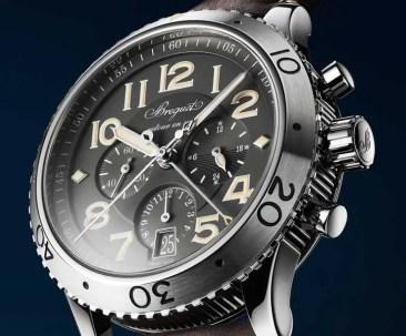 Neuer Fliegerchronograph Breguet Tpe XXI 3817