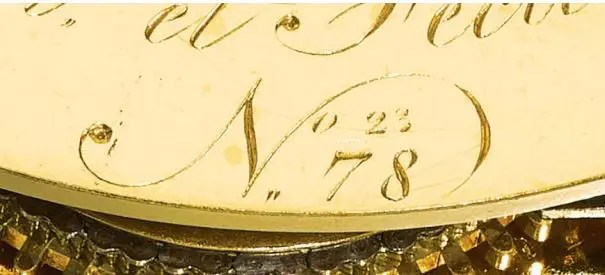 Lot 38, a John Arnold watch circa 1781, sold for $722,318 at the Sotheby's auction © Sotheby's