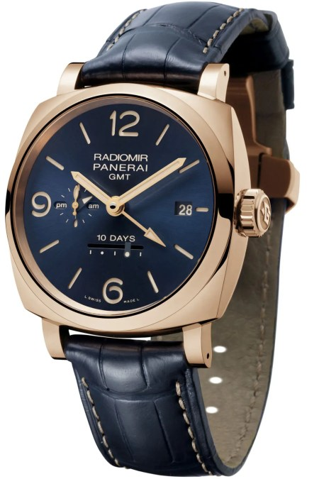 Pam659_Radiomir 1940 10 Days GMT Automatic Oro Rosso – 45 mm