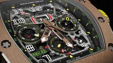 Richard Mille RM 11-03 Automatik Flyback Chronograph