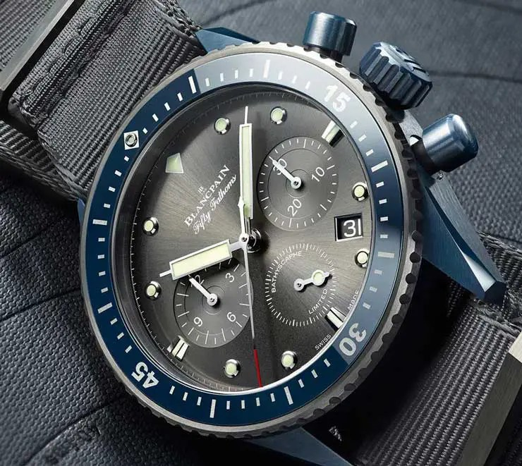 Blancpain Fifty Fathoms Bathyscaphe Ocean Commitment II