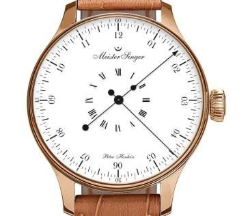Erster Chronometer von MeisterSinger: die Edition Peter Henlein
