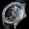 Venturer Tourbillon Dual Time Sapphire Blue Skeleton