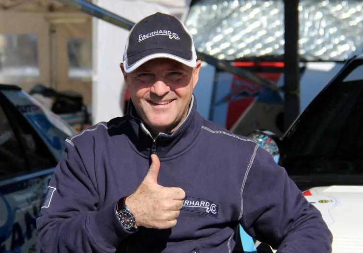 Eberhard & Co. ist Hauptsponsor der Oldtimer-Rallye Winter Marathon