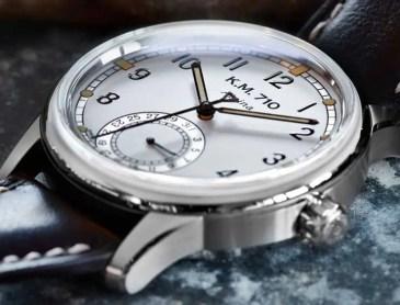 Die Alpina KM-710: moderne Neuinterpretation der Marine-Armbanduhr