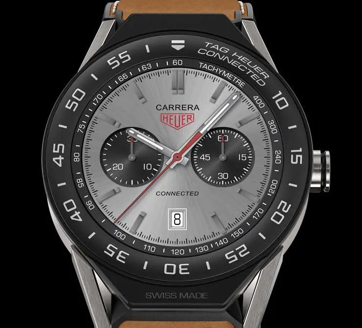 """TAG Heuer Connected Modular 45: modularer Luxus """"Swiss Made""""."""