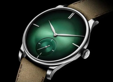 H.Moser & Cie Venturer Small Seconds XL Purity Cosmic Green