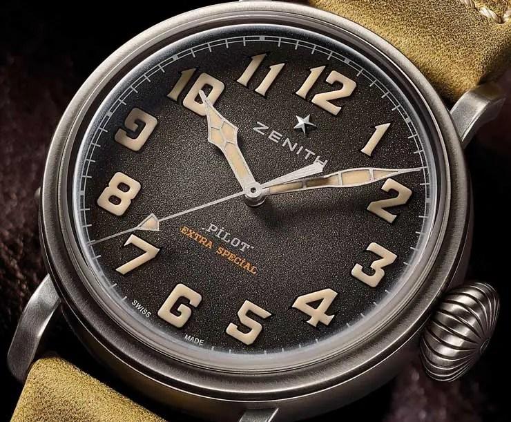 Zenith Pilot Type 20 Extra Special 40 mm: Trendy Vintage Look