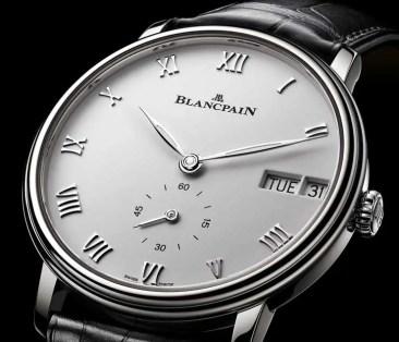 Blancpain Villeret-Kollektion mit neuem Wochentag-Datum-Modell