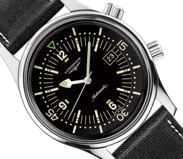 Taucheruhr im Look der 60er Jahre: The Longines Legend Diver Watch
