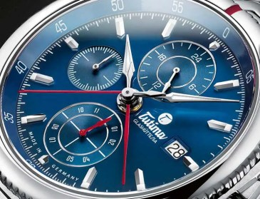 Königlich blaublütig: Tutima Saxon One Royal Blue