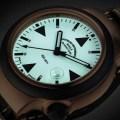 S.A.R. Rescue Timer Bronze Zifferblatt