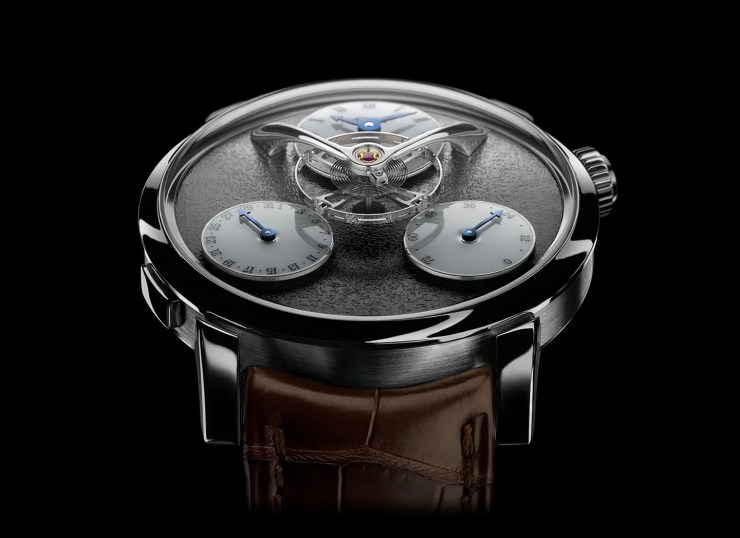 MB&F Legacy Machine Split Escapement_WG_Ruthenium_Face
