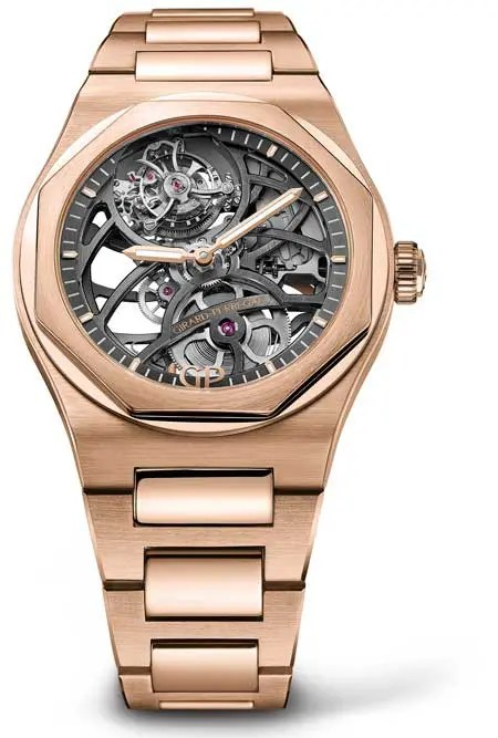 Laureato Flying Tourbillon Skeleton Roségold