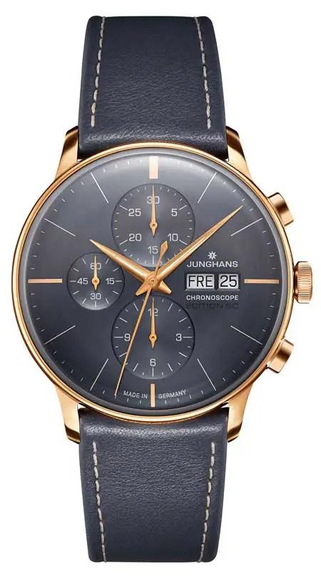 Junghans Meister Chronoscope Edition SC Ref. 027/7720.02 Limitiert auf 100 Uhren € 2.140,-