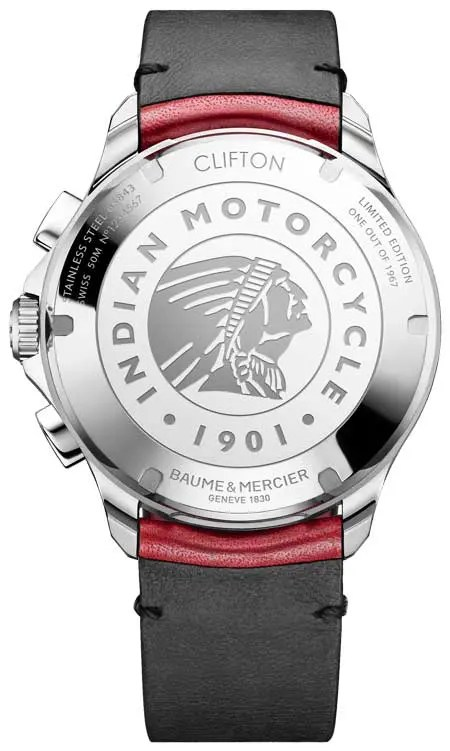 Clifton Club Burt Munro Tribute Limited Edition Rückseite