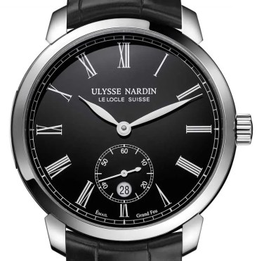 Back to Black: Ulysse Nardin Classico Manufacture Grand Feu