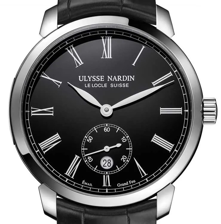 Back to Black: Ulysse Nardin Classico Manufacture Grand Feu