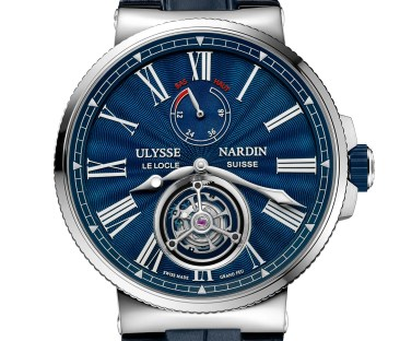 SIHH-Preview: Ulysse Nardin Marine Tourbillon Grand Feu