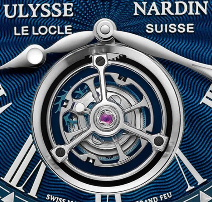Marine Tourbillon Blue Grand Feu