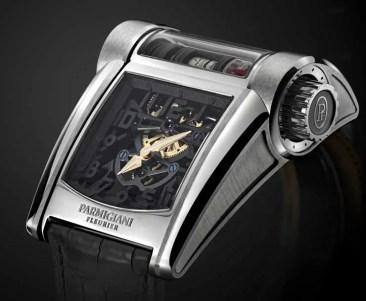 Parmigiani Bugatti Typ 390: Exklusiver Motorblock für das Handgelenk