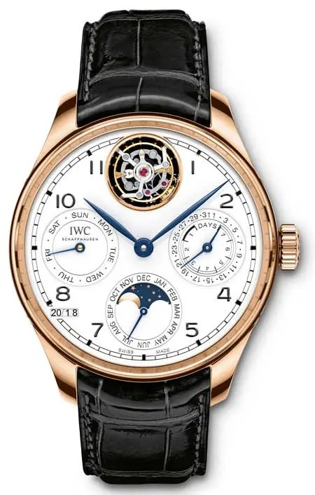 WC Portugieser Perpetual Calendar Tourbillon Edition _150years_ IW504501