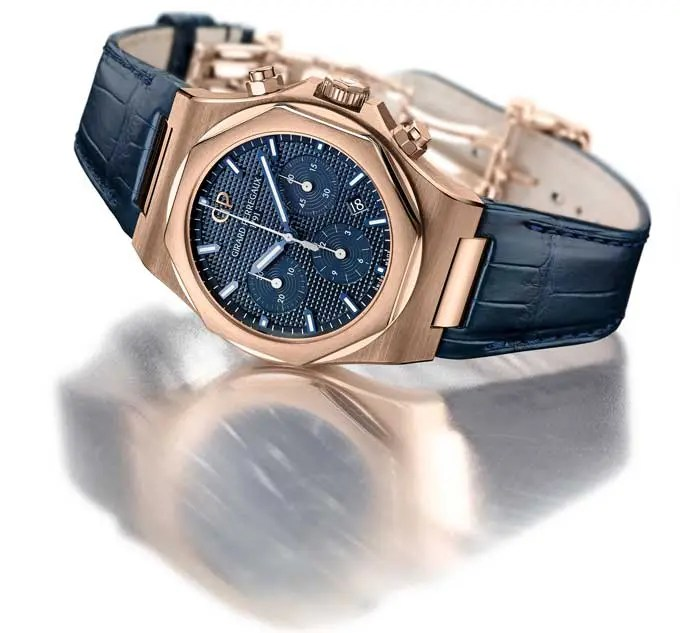 Der Laureato Chronograph in Roseegold