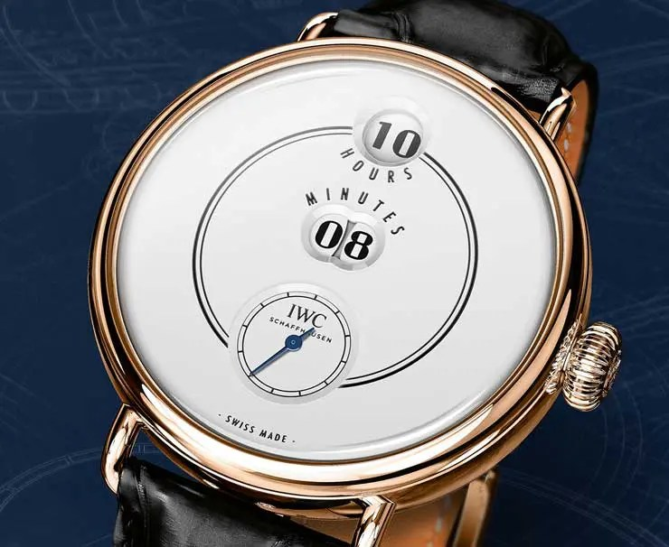 Analog kann digital: SIHH Preview IWC Tribute to Pallweber Edition