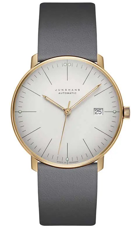 Junghans max bill in Sandgold
