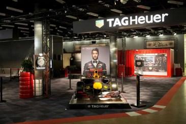 TAG Heuer einziger Uhrenhersteller auf dem Genfer Automobilsalon 2018