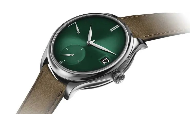 Endeavour Perpetual Calendar Purity Cosmic Green