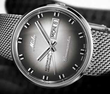 Baselworld Preview: Mido Commander Shade Edition Speciale
