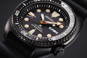 Seiko Prospex Black Series Diver's: die Tiefen des Meeres