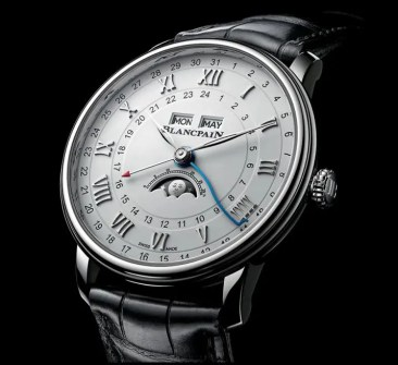 Sneak Preview: Blancpain Villeret Quantième Complet GMT