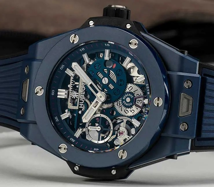 Baselworld Preview: Hublot Big Bang Meca-10 Blue Ceramic