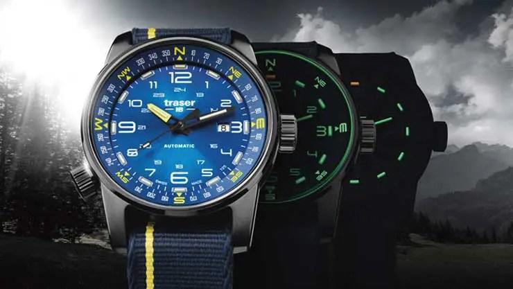 P68 Pathfinder Automatic Blue